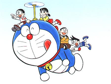 Foto Doraemon dan Nobita